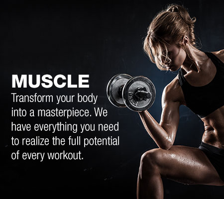 Female Muscle Building Supplements in Edmonton at Firstline Nutrition